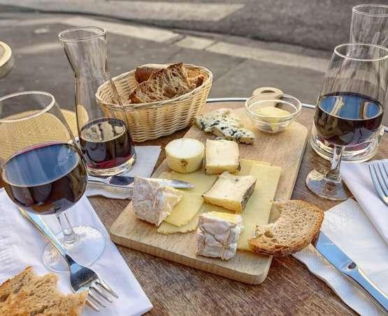 Kuchnia francuska + degustacja win i serów